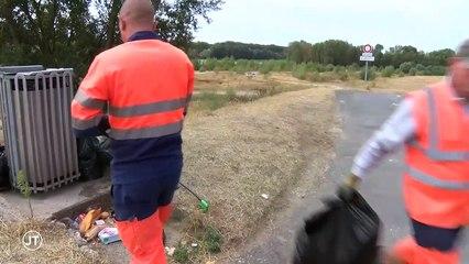 Ecologie : La Touraine lutte contre les déchets sauvages