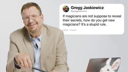Penn Jillette Answers Magic Questions From Twitter