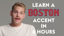 Actor Learns a Boston Accent in 6 Hours