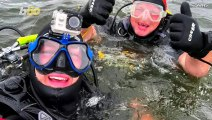 Divers Retrieve Working iPhone X from Bottom of Lake Two Days After It Sank
