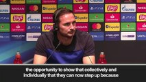 (Subtitled) 'Hazard exit has left a gap' - Lampard admits Chelsea must collectively step up