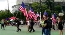 ABD bayrağı gerginliği