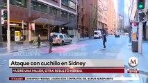Por ataque con cuchillo, detienen a un hombre en Sydney