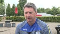 Warrington's Steve Price pre Wigan