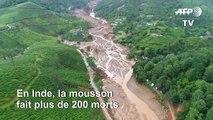 Inde : images des inondations au Kerala