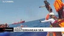 Toujours pas de solution pour les 500 migrants à bord de l'Open Arms et de l'Ocean Viking