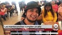 Las 'manteconchas' cumplen un año en Querétaro