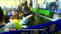 Hong Kong : la manifestation pacifique dégénère