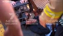 Australie : un homme arrêté après une attaque au couteau