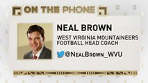 The Jim Rome Show: Neal Brown talks West Virginia potential
