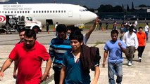 """On board """"ICE Air,"""" the Trump administration's increased deportation effort"""