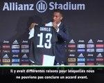 """Juventus - Danilo arrive """"au bon moment"""""""