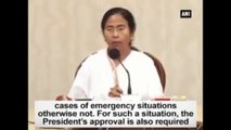 Deploying Army Without Giving Notice Is Illegal Seizure Of Power Mamata Banerjee