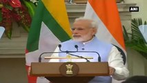 India Will Stand With Myanmar In full Support & Solidarity -  PM Modi