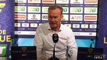 La conférence de presse de Jean-Marc Furlan après AJA-Béziers (CDL)