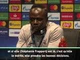 """Super Coupe - Van Dijk sur l'arbitre : """"Parler du genre n'est pas pertinent"""""""