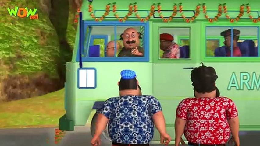 Motu Patlu New Episode  Cartoons  Kids TV Shows  Motu Patlu The Bus Driver  Wow Kidz