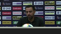 (Subtitled) 'Guardiola is on another level' - Xavi plays down comparisons to Man City boss