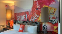We Went To The Taco Bell Hotel—Here's What It's Really Like Inside