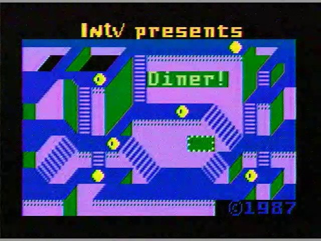 Intellivision II Test Footage