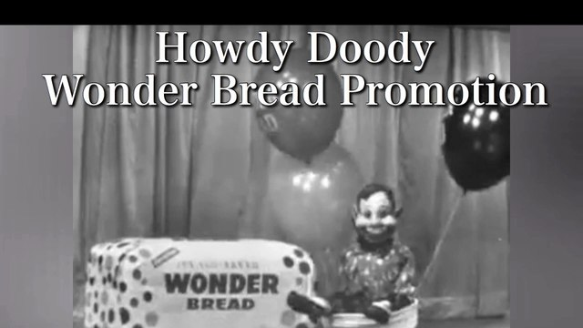 Howdy Doody Wonder Bread Promotion (1956)