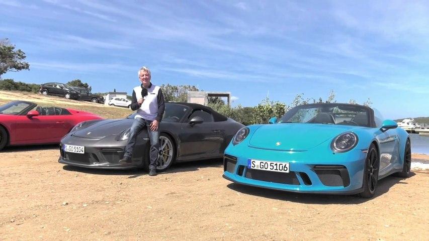 Porsche 911 Speedster Highlights