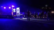 Otomobil yayalara çarptı: 1 ölü, 3 yaralı
