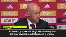 (Subtitled) 'Ajax must improve in the Champions League' -  Erik ten Hag