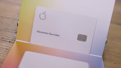 Apple Card: Unboxing and setup