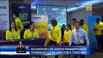 Ecuador, por su participación en Panamericanos, consiguió cupos directos a Olimpiadas