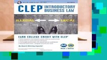 Clep(r) Introductory Business Law Book + Online, 2nd Ed. (CLEP Test Preparation)  Best Sellers
