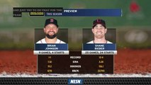 Red Sox's Brian Johnson To Closeout Series Against Cleveland Indians Wednesday