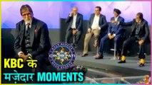 Amitabh Bachchan FUNNY Moments From The Sets Of Kaun Banega Crorepati 2019 Show Launch