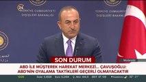 Bakan Çavuşoğlu'ndan Müşterek Harekat Merkezi ile ilgili açıklama