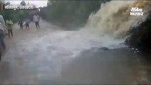 तेज बारिश से बीना-ललितपुर रेलमार्ग पर भरा पानी