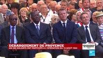 Débarquement de Provence : lecture en hommage aux héros africains