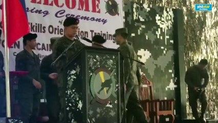 Gerald Anderson etc. Scout Rangers graduation