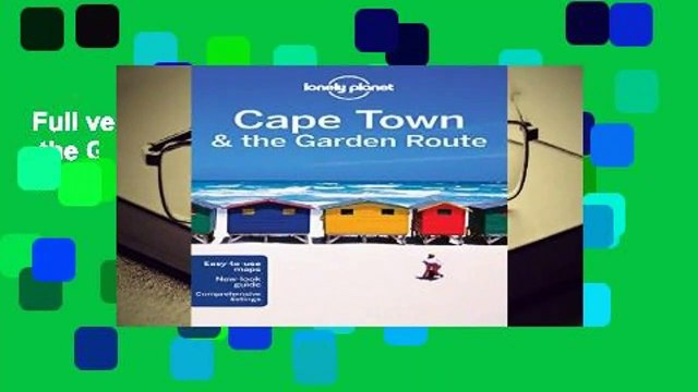 Full version  Lonely Planet Cape Town   the Garden Route (Travel Guide)  Best Sellers Rank : #3