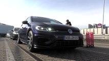 Sicherheitstraining auf dem Nürburgring mit dem VW Golf