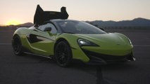 McLaren 600LT Spider Design in Lime Green