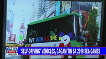 'Self-driving' vehicles, gagamitin sa 2019 SEA Games