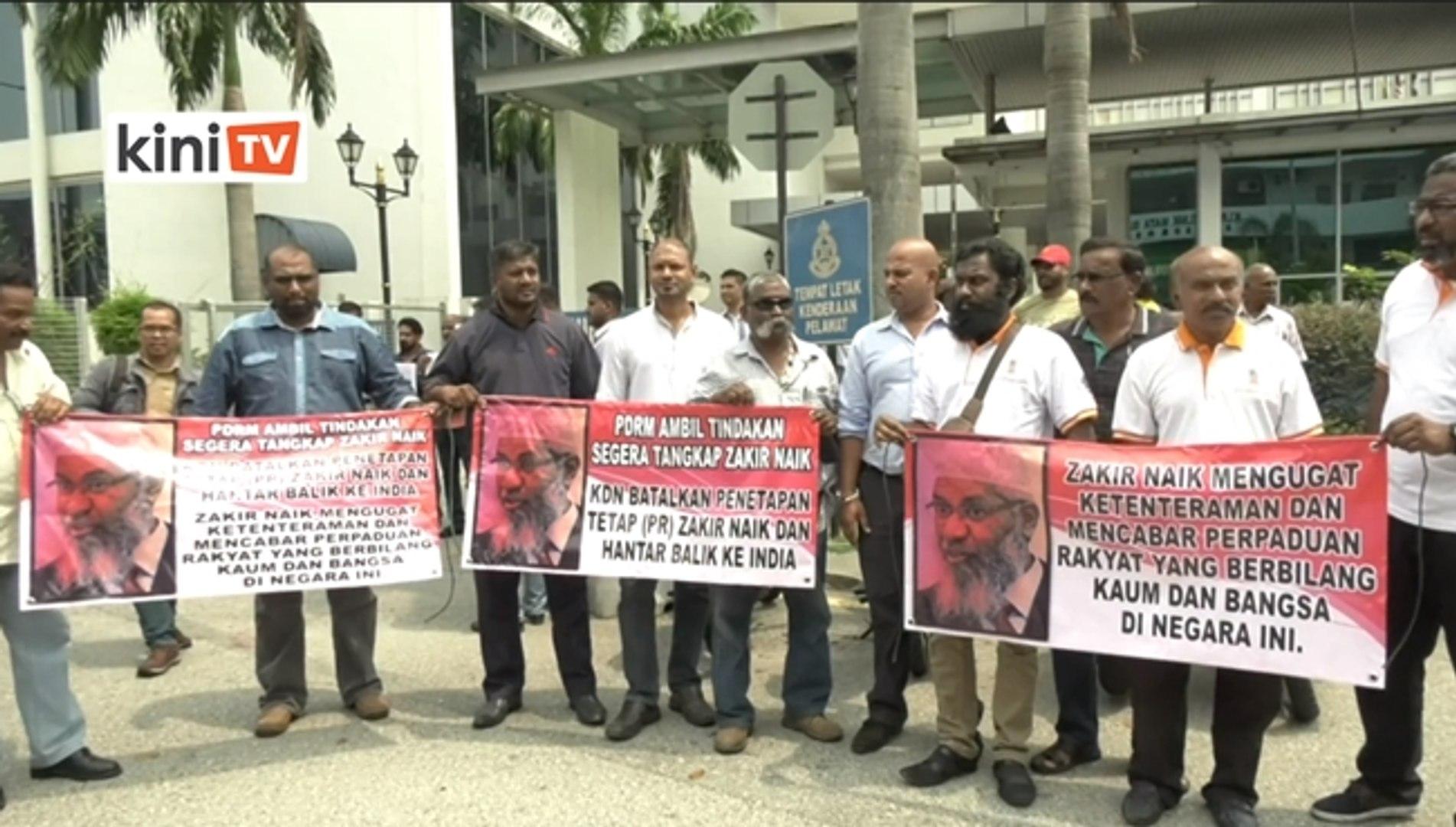 Lagi NGO bantah Zakir Naik