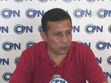 Ollanta Humala, persecucion politica, tema Peru Chile