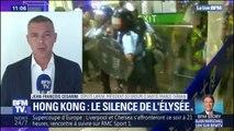 Violences à Hong Kong: comment expliquer le silence de l'Élysée?