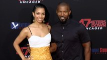 "Corinne Foxx and Jamie Foxx ""47 Meters Down: Uncaged"" Premiere Red Carpet"