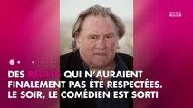 Gérard Depardieu invité du festival de Ramatuelle, il pique une colère noire
