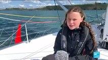 Greta Thunberg met le cap sur New York à bord d'un voilier zéro carbone