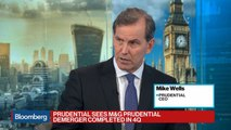 Prudential CEO on M&GPrudential Demerger, Negative Yields, Brexit