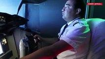 Vidéo - Poitiers : Piloter un Boeing 737 avec un simulateur