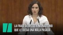 """Isabel Díaz Ayuso, a Rocío Monasterio: """"Estamos más unidas de lo que querrían"""""""